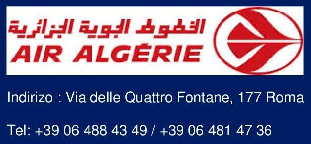 AIR ALGERIE – ROMA