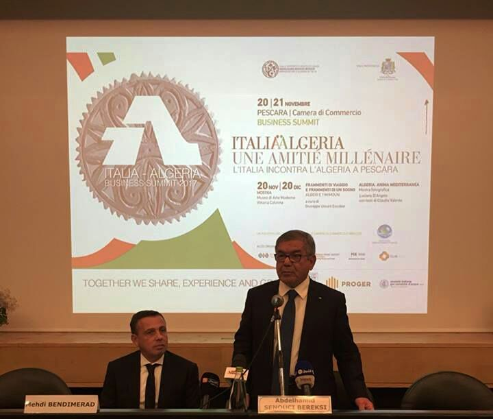 Relazioni Algeria-Pescara 20-21 Novembre 2017